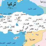 خريطة تركيا بالمسافات بالعربي