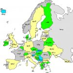 خريطة اوروبا باللغة العربية بجودة عالية