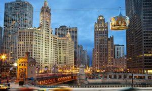 السفر الى شيكاغو