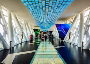 زيارة مبنى برواز دبي
