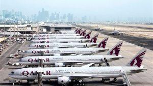 طيران القطرية
