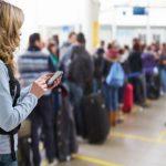 اجراءات الترانزيت في مطار روما