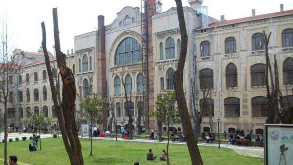 تجمع الطلبة في تركيا جامعة مرمرة التركية